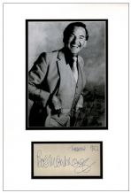 Bob Monkhouse Autograph Signed Display